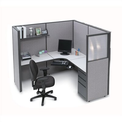 Storlie L-Shape Corner Workstation