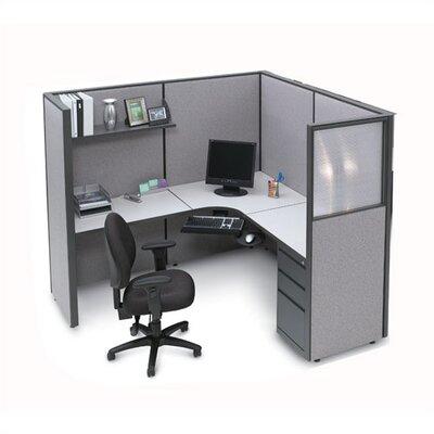 Storlie L-Shape Corner Workstation