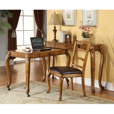 Legends Furniture Lafayette L-Shape Desk Office Suite