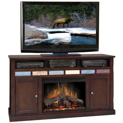 "Legends Furniture Fire Creek 62"" TV Stand with Electric Fireplace"
