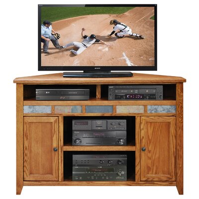 Wood Storage Corner Tv Stand | Wayfair