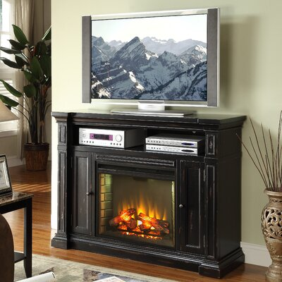 "Legends Furniture Manchester 58"" TV Stand with Electric Fireplace"
