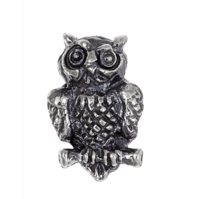 Sterling Essentials Signature Moments Sterling Silver Owl Bead