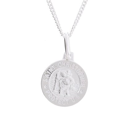 Sterling Silver Saint Christopher Medal