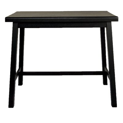 Carolina Cottage Asian Pub Table in Antique Black