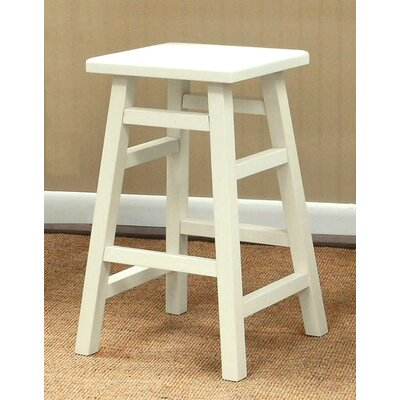 Carolina Cottage O'Malley Pub Counter Stool in Antique White