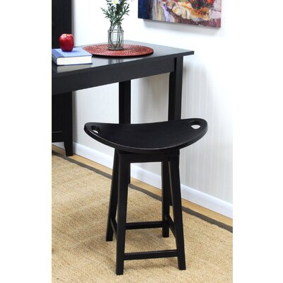 Asheville Swivel Counter Stool in Antique Black