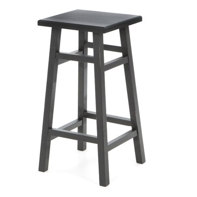 O'Malley Pub Bar Stool in Antique Black