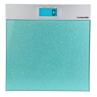 "Kalorik 2"" x 13.125"" Electronic Bathroom Scale"