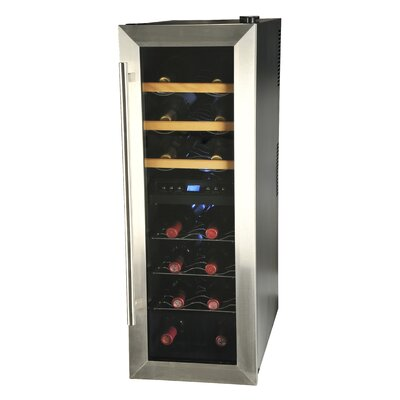 Kalorik 21 Bottle Dual Zone Thermoelectric Wine Refrigerator