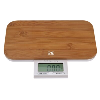 Kalorik Electronic Bamboo Kitchen Scale