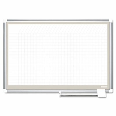 Mastervision All Purpose Porcelain Planner Dry Erase Board