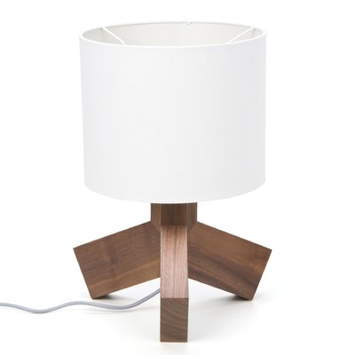 "Blu Dot Rook 19.5"" H Table Lamp with Drum Shade"
