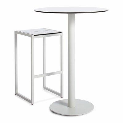 Blu Dot Skiff 2 Piece Bar Height Table Dining Set