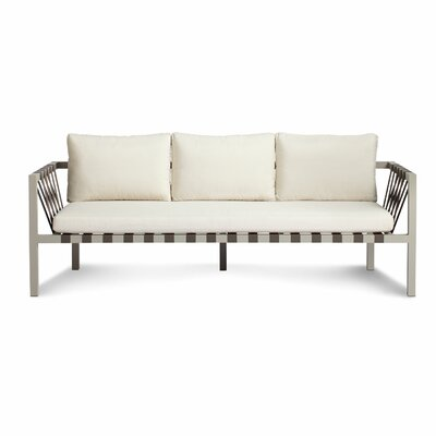 Blu Dot Jibe 3 Seat Outdoor Sofa with Cushions