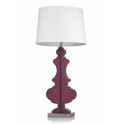 "Krush Kurve 33"" H Elle Table Lamp"