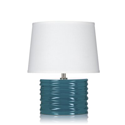 """Krush Spin Glow 20"""" H Table Lamp with Empire Shade"""