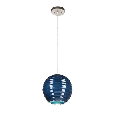 Krush Spin Cloud 9 1 Light Pendant
