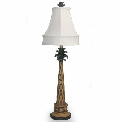 style craft palm tree table lamp. Black Bedroom Furniture Sets. Home Design Ideas