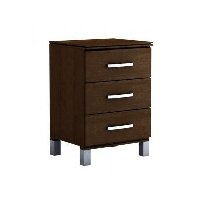 College Woodwork Cranbrook 3 Drawer Nightstand