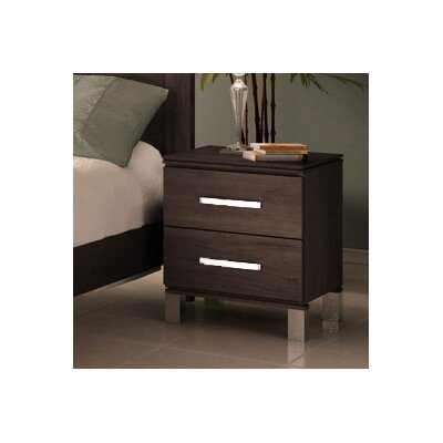 College Woodwork Cranbrook 2 Drawer Nightstand