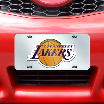 FANMATS NBA License Plate Inlaid