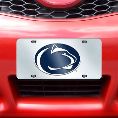 FANMATS NCAA License Plate Inlaid