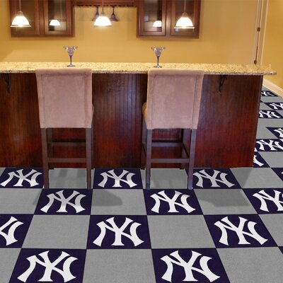 "FANMATS MLB Team 18"" x 18"" Carpet Tile"