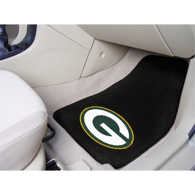FANMATS NFL 2 Piece Carpeted Novelty Car Mats