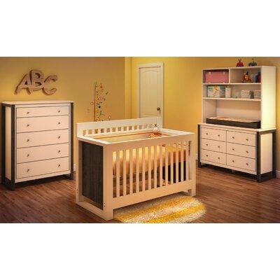 Kidz Decoeur Greenwich 3-in-1 Convertible Crib Set