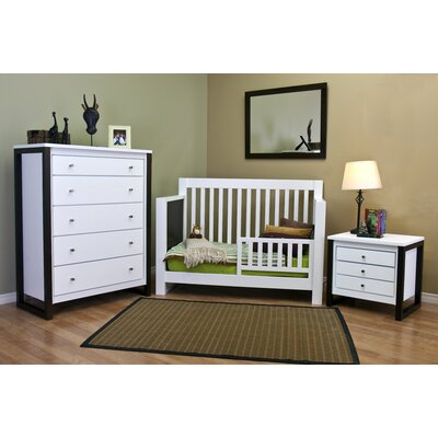 Kidz Decoeur Greenwich 3-in-1 Convertible Crib Set