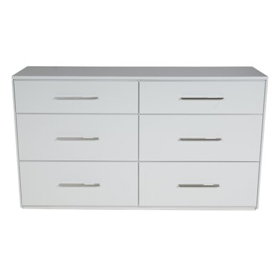 Kidz Decoeur York 6 Drawer Dresser