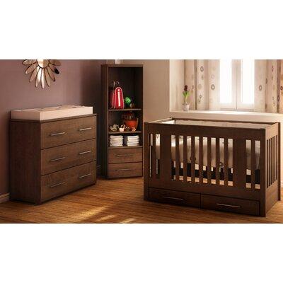Kidz Decoeur York 3-in-1 Convertible Crib