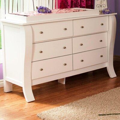 Kidz Decoeur Augusta 6 Drawer Dresser
