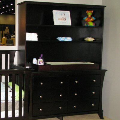 Kidz Decoeur Long Beach 6 Drawer Dresser