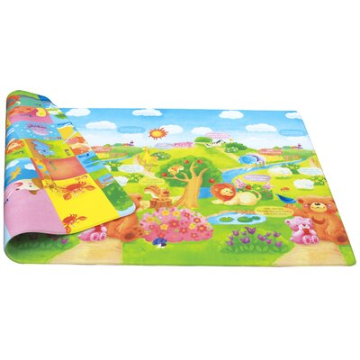 Dwinguler Sunshine Reversible Kids Playmat