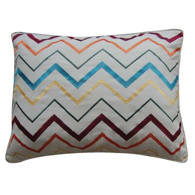 Chevron Feather Pillow