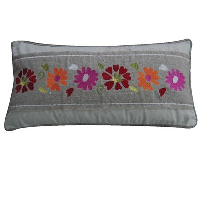 Windsong Flower Feather Pillow
