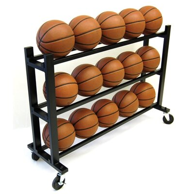 "Trigon Sports 35"" 3 Tier Ball Cart"