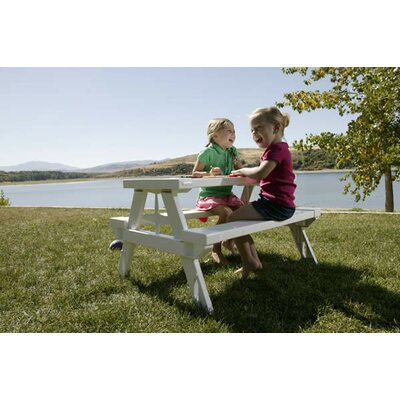 Kidnic Kids Rectangular Picnic Table