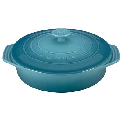 Stoneware 2.1-Qt. Covered Round Casserole