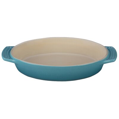 Stoneware Oval Dish