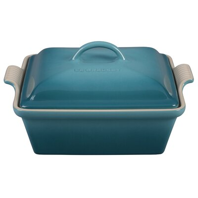 Le Creuset Stoneware 2.5-qt. Covered Square Casserole