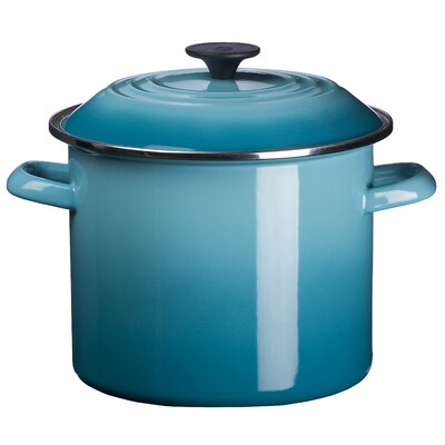 Le Creuset Enamel On Steel 12-qt. Stockpot with Lid