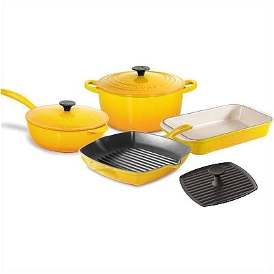 Le Creuset Enameled Cast Iron 7-Piece Cookware Set
