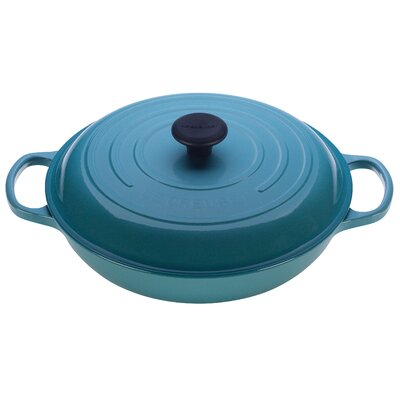 Enameled Cast Iron Braiser with Lid