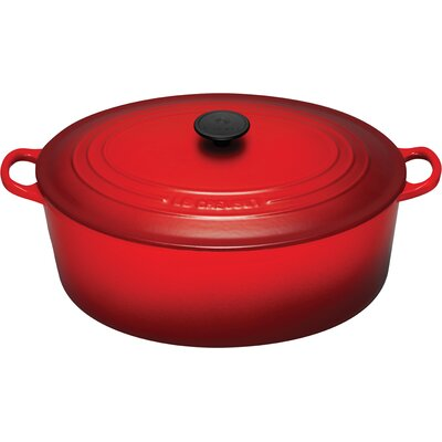 Le Creuset Enameled Cast Iron Signature 15.5-qt. Goose Pot