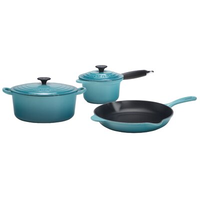 Le Creuset Essential Enameled Cast Iron 5-Piece Cookware Set