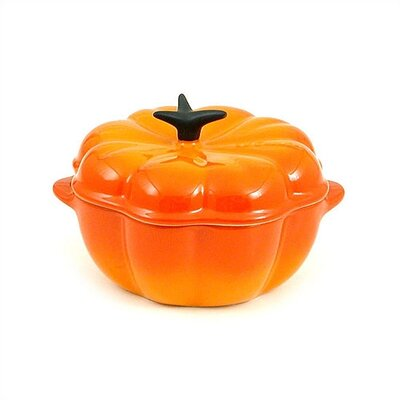 Le Creuset Enameled Cast Iron 2 1/4-Qt. Pumpkin Casserole