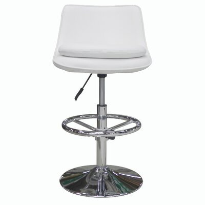 Ice Adjustable Bar Stool with Cushion